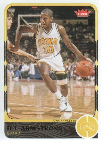 80bdf70a18f 2011-12 Upper Deck Fleer Retro Basketball  29 B.J. Armstrong Iowa Hawkeyes  NCAA Trading Card by Fleer Retro.  1.99. 2011 Upper Deck Co. trading card  in near ...