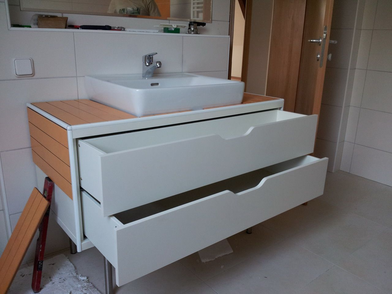 My Stolmen Vanity Unit Ikea Hackers