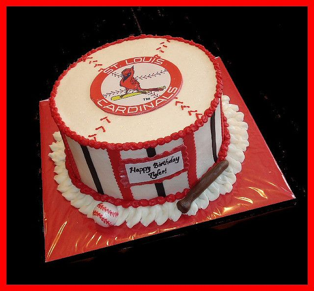 St Louis Cardinals Cake For Tyler St Louis Cardinals And Cake