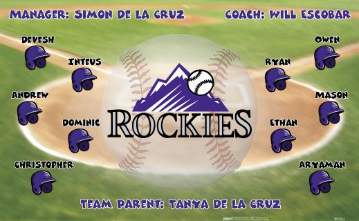 Rockies Vinyl Banner B56262 Digitally Printed Vinyl Softball Baseball And Little League Sports Tea 2017 Baseball Softball Banners From Bannersusa Softball Baseball