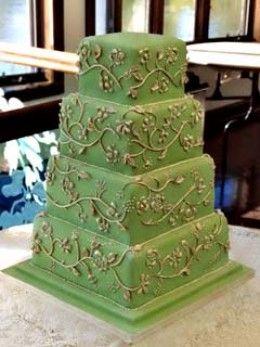 Green & Gold ~ Top Ten Wedding Color Combinations For 2013.... Simple Elegant Weddings