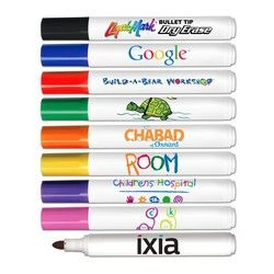 Dry Erase Bullet Tip Marker With Full Color Decal Usa Made Dry Erase Dry Erase Markers Markers