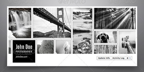 Facebook Cover Collage ~ Facebook cover collage template pixshark