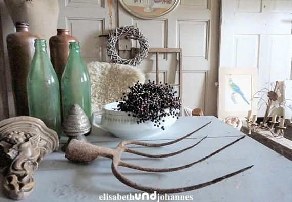 antique rusty distressed rake fantastic rustig decor