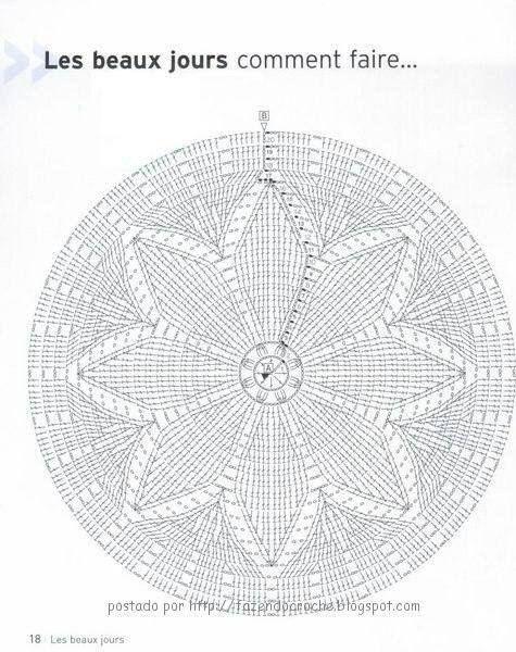 patron para paño tejido a crochet | Ganchillo | Pinterest | Paños ...