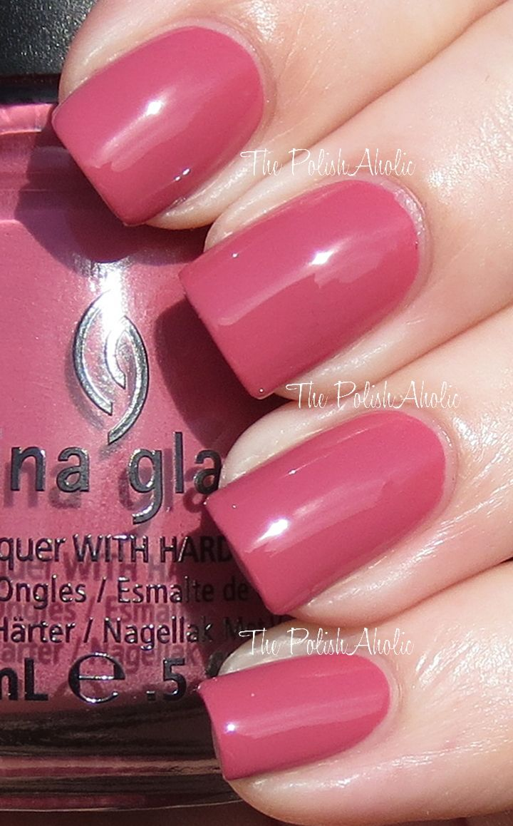 China+Glaze+Life+Is+Rosy+1.JPG (720×1158) | Nail colors | Pinterest