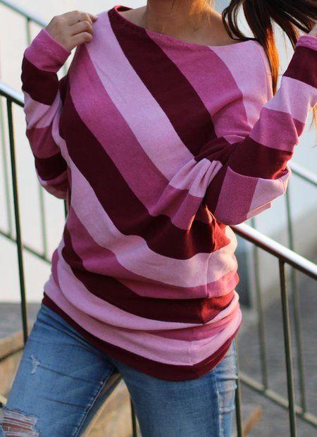 Freebook Poncho deluxe Schnitt- und Nähanleitung #ponchodress