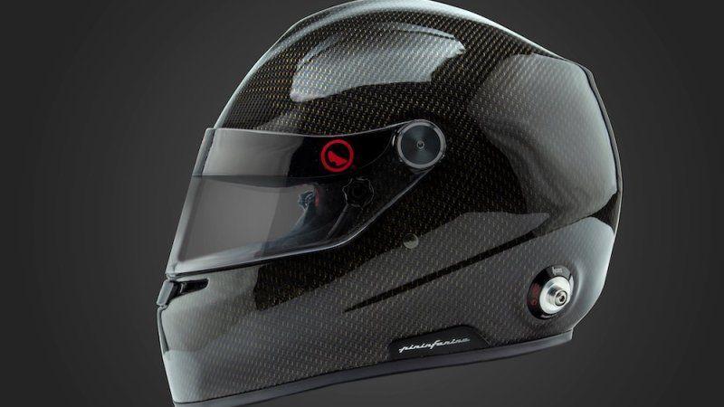 Pininfarina Designed Racing Helmets Feature Water Cooling System Racing Helmets New Renault Helmet