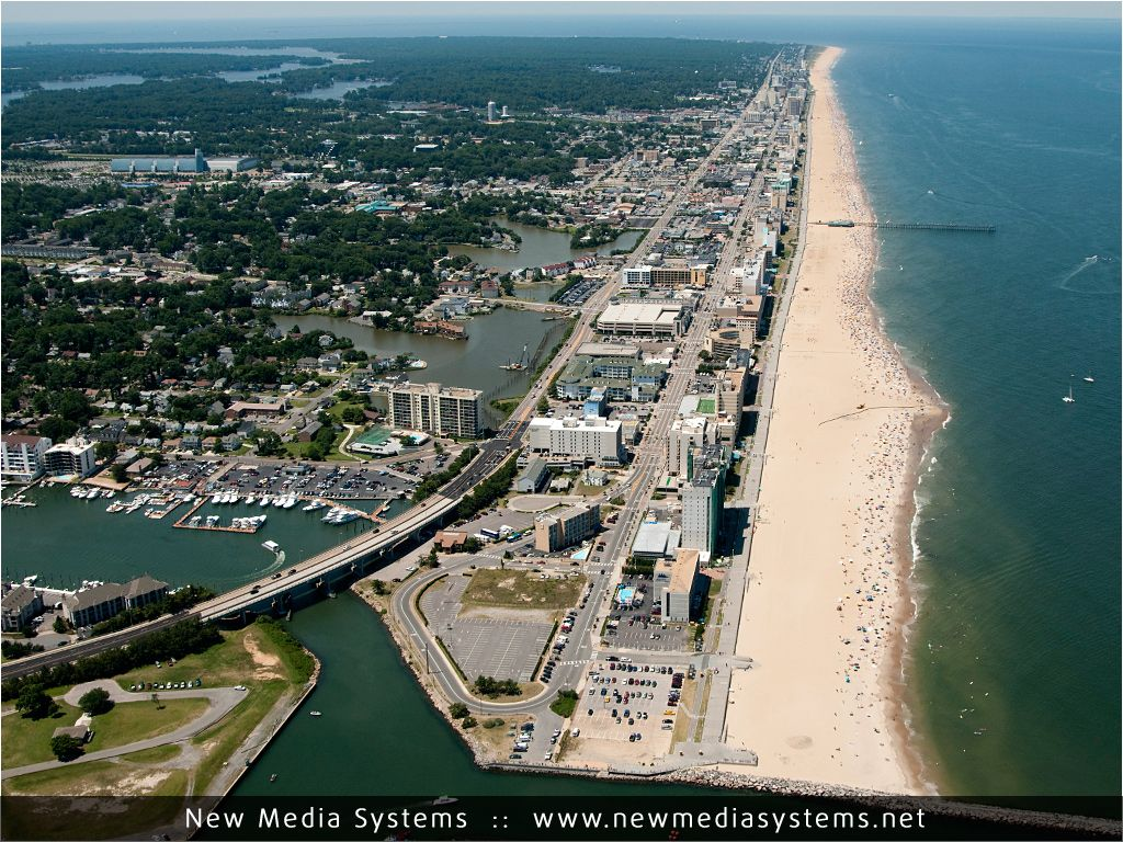 Street Map Of Virginia Beach Oceanfront