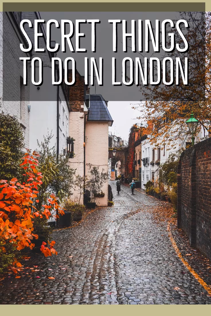 London has so many off-the-beaten-path destinations that are better than some of the most popular landmarks. Here's a guide to the best untouristy and secret things to do in London. Alternative London!