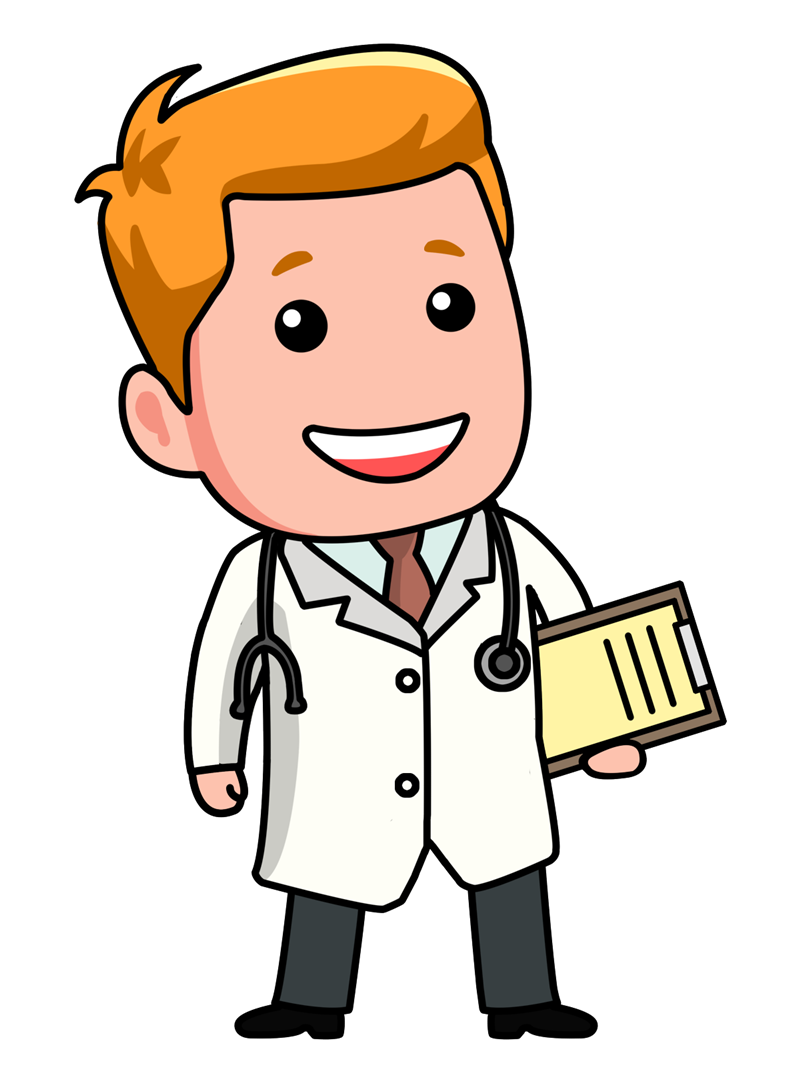 doctor cartoon clip art clipart free clipart illustration rh pinterest com pediatrician clipart pediatrics clip art