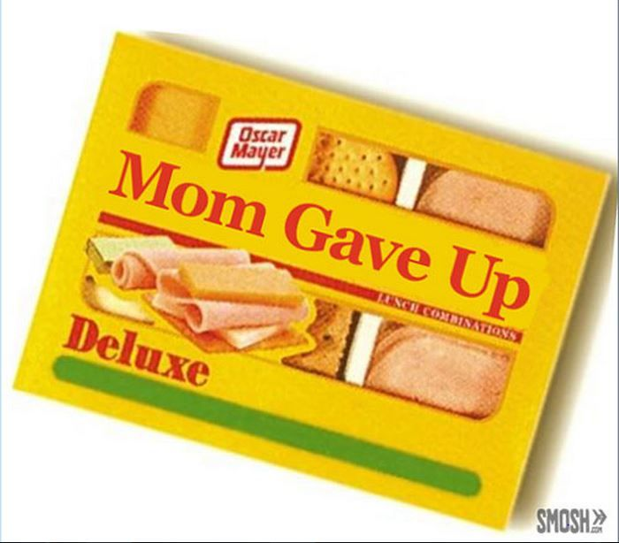 Offered my kids Ritz, bologna and cheese. They said they wanted Lunchables instead.