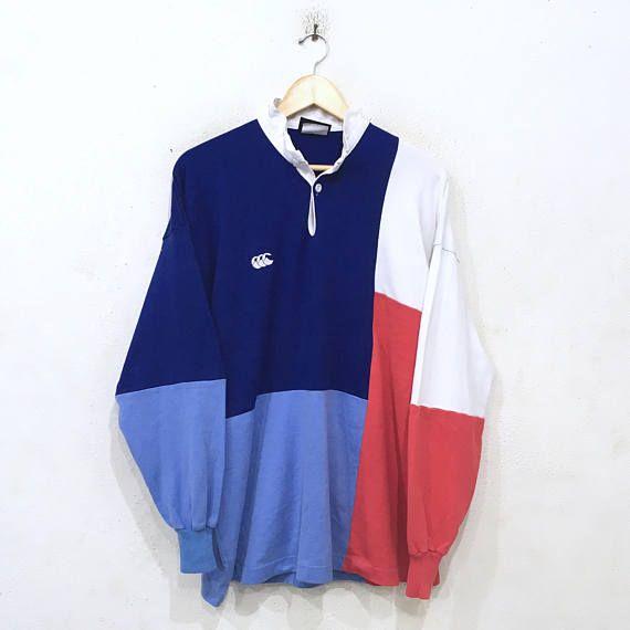 9a5975dd14c Rare!! CANTERBURY UGLY Rugby Polo Shirt Longsleeve Tee Hip Hop ...