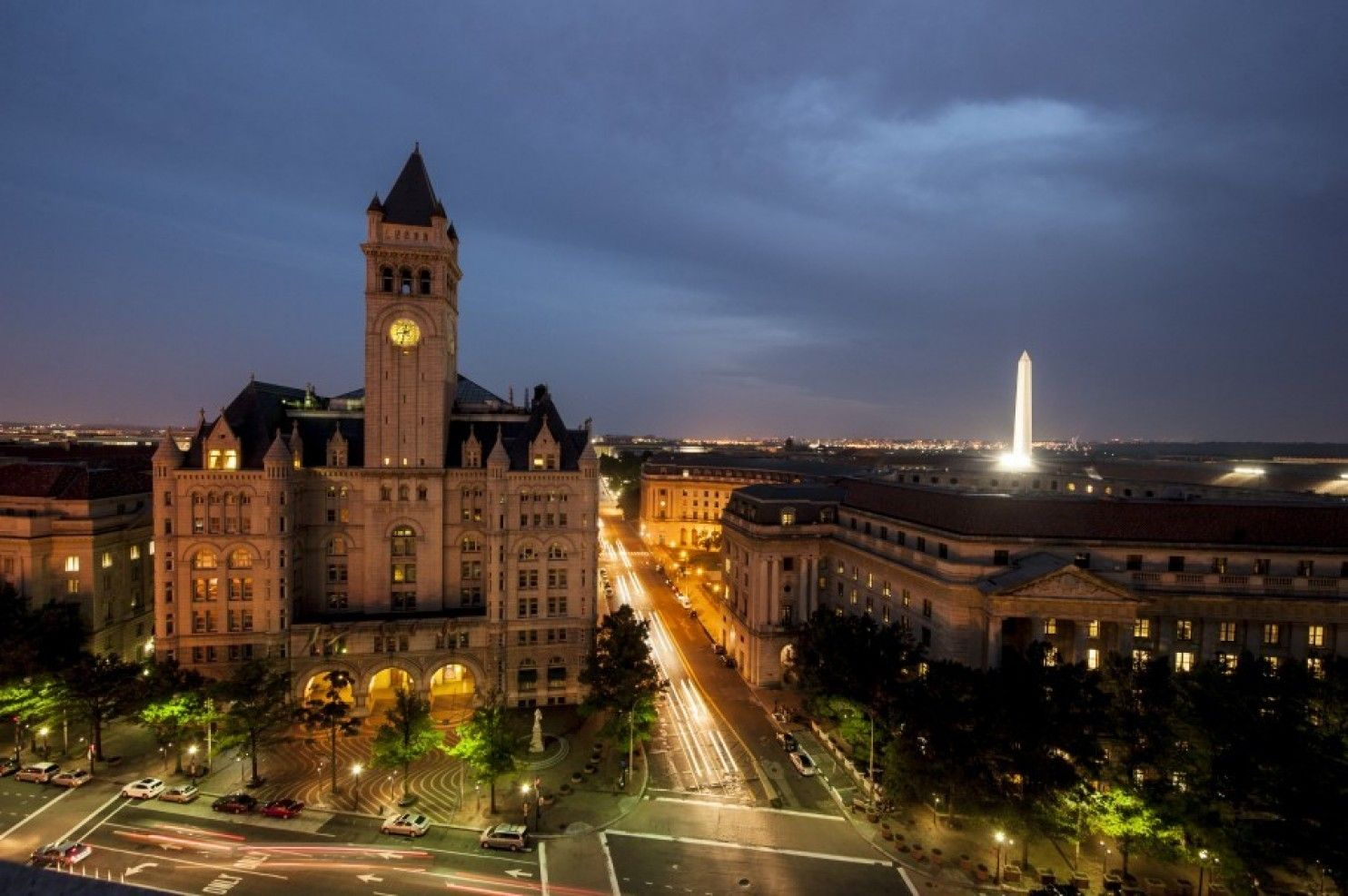 Clock tower tours resume in Trump's DC hotel, but only if
