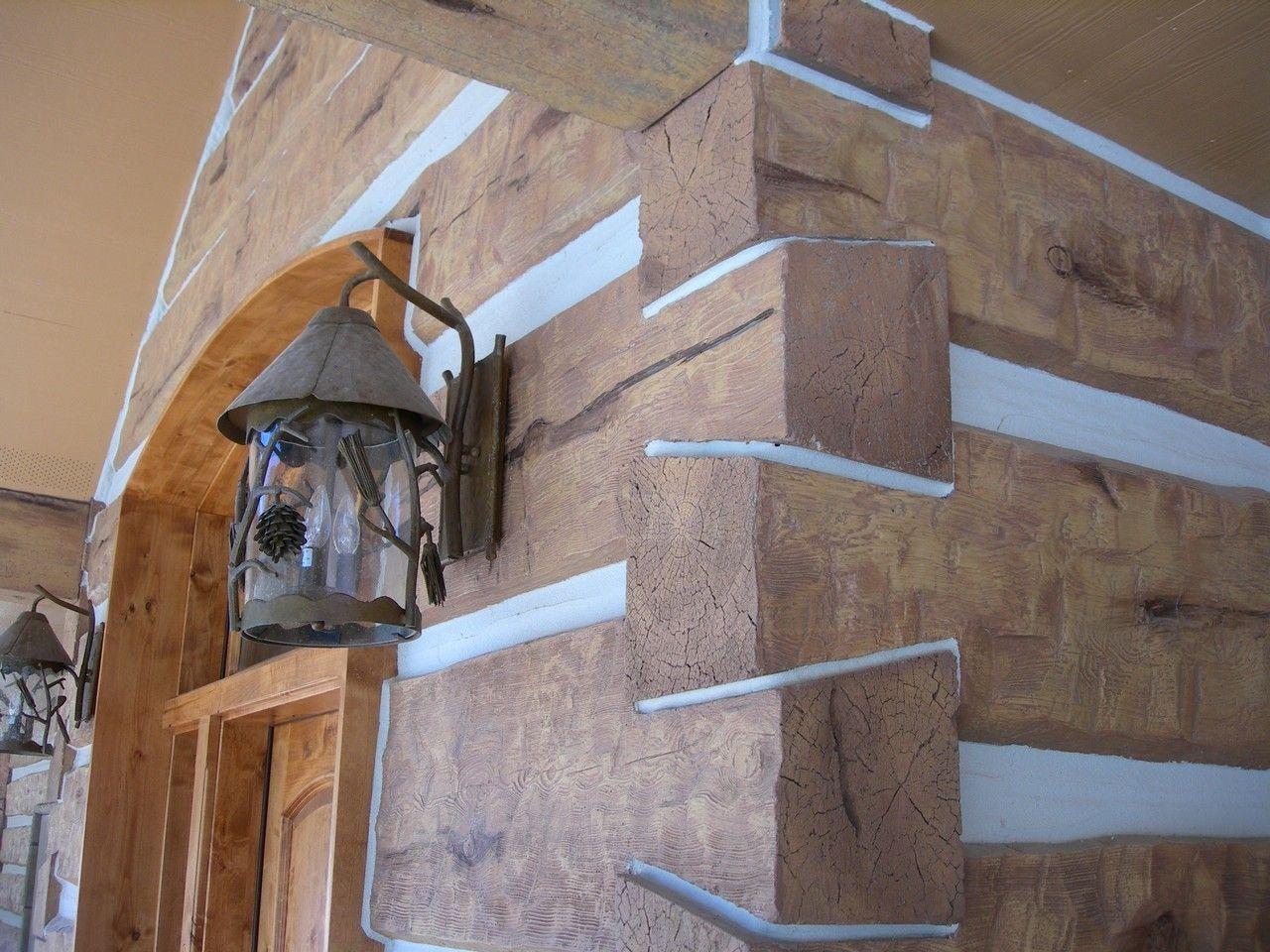 Alberton montana residence profile 16 hand hewn everlog for Buy log siding
