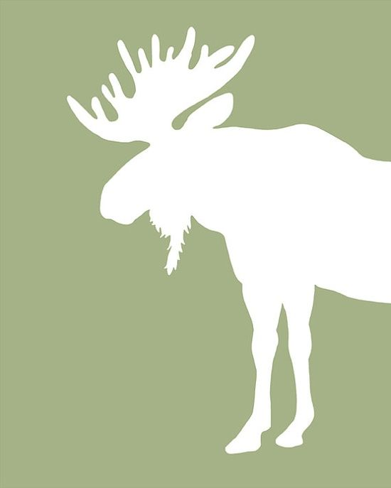 Look up any animal silhouette on Google. Print out and trace on cute scrapbook paper. Cut out and frame!