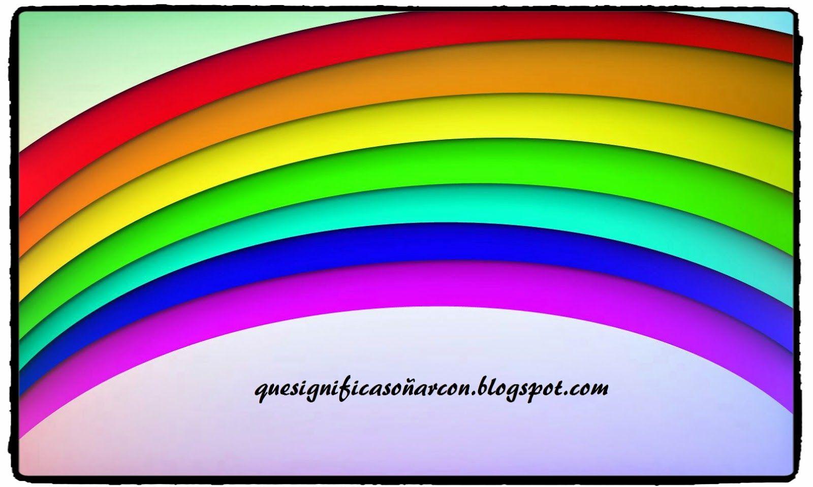 Que significa so ar con el arco iris contes pinterest - Bruguer colores para sonar ...
