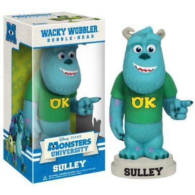 Amazon.com: Funko Disney Monsters University: Sulley Wacky Wobbler: Toys & Games