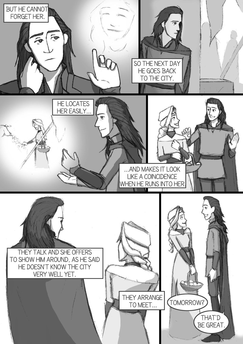 After Thor TDW - comic-fanfic - page 9 by DKettchen   Other