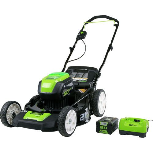 Greenworks 2501202 Pro 80v Cordless Lithium Ion 21 In 3