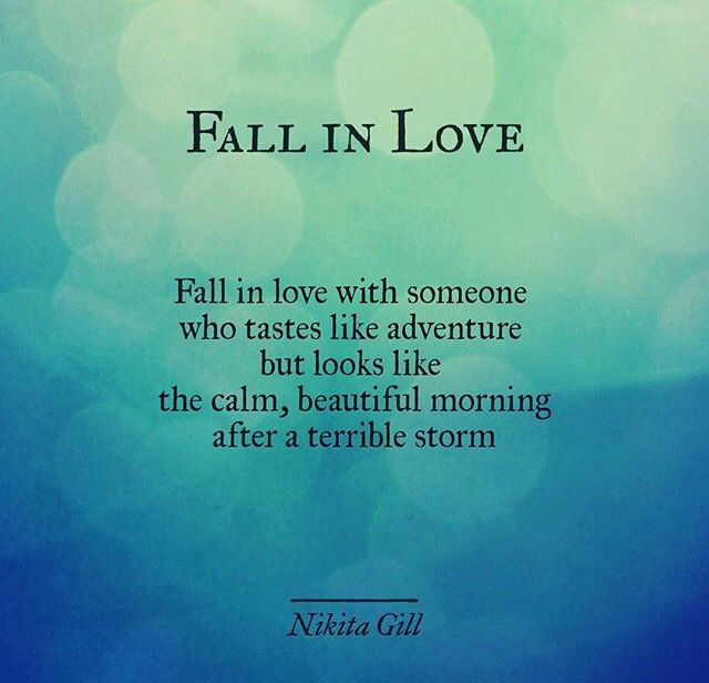 Fall In Love With Someone... Love Love Love This
