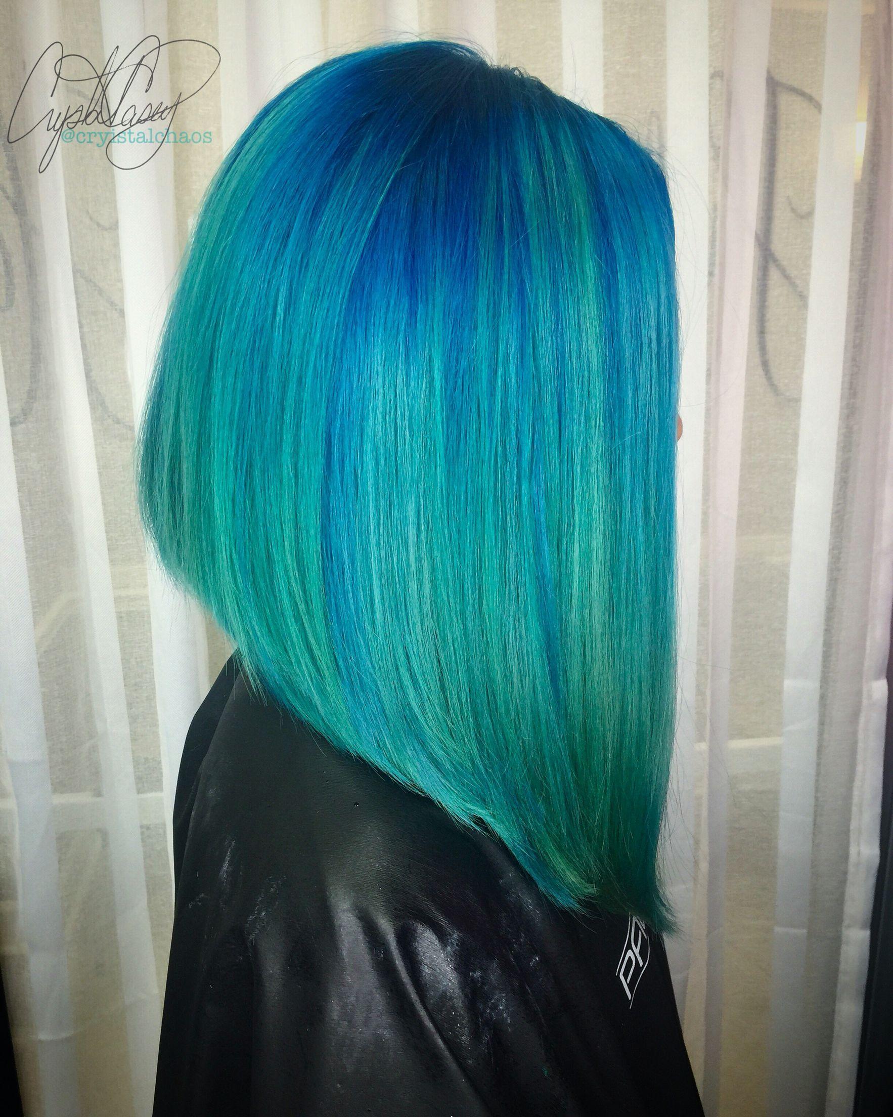 der Haarschnitt ist super Turquoise Pinterest