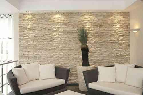 Le mur de pierre intérieur - 25 idées de design original à découvrir