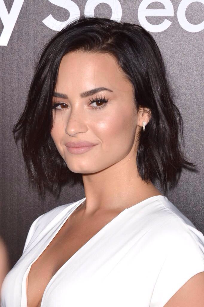 Demi Lovato at the Samsung launch party in West Hollywood - August 18th
