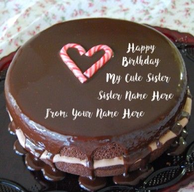 Online Photo Editing Happy Birthday Wishes For Sister Name Cakes DP Pictures Created Your Any Good Writing Wish High