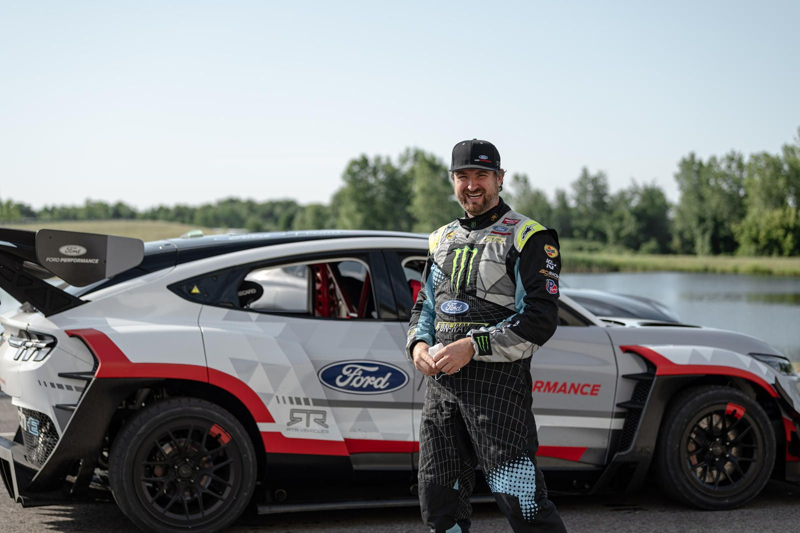 Vaughn Gittin Jr Tells Us The Mustang Mach E 1400 Is The Greatest Thing He S Ever Built The Founder Of Rtr Vehic Ford Torino Jeep Gladiator Chevrolet Camaro