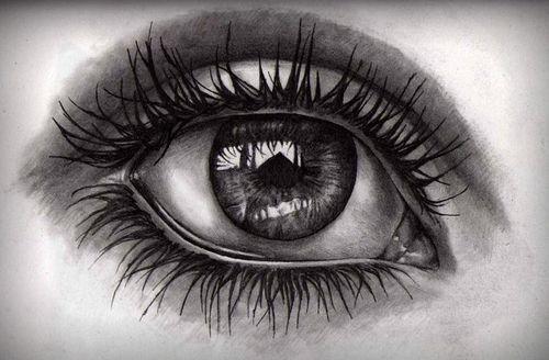 1 Tumblr Picture On Eye Pencil Drawing Eye Drawing Eyes