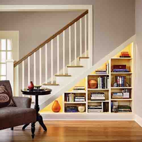 Im trying to find a great way to make storage under the steps