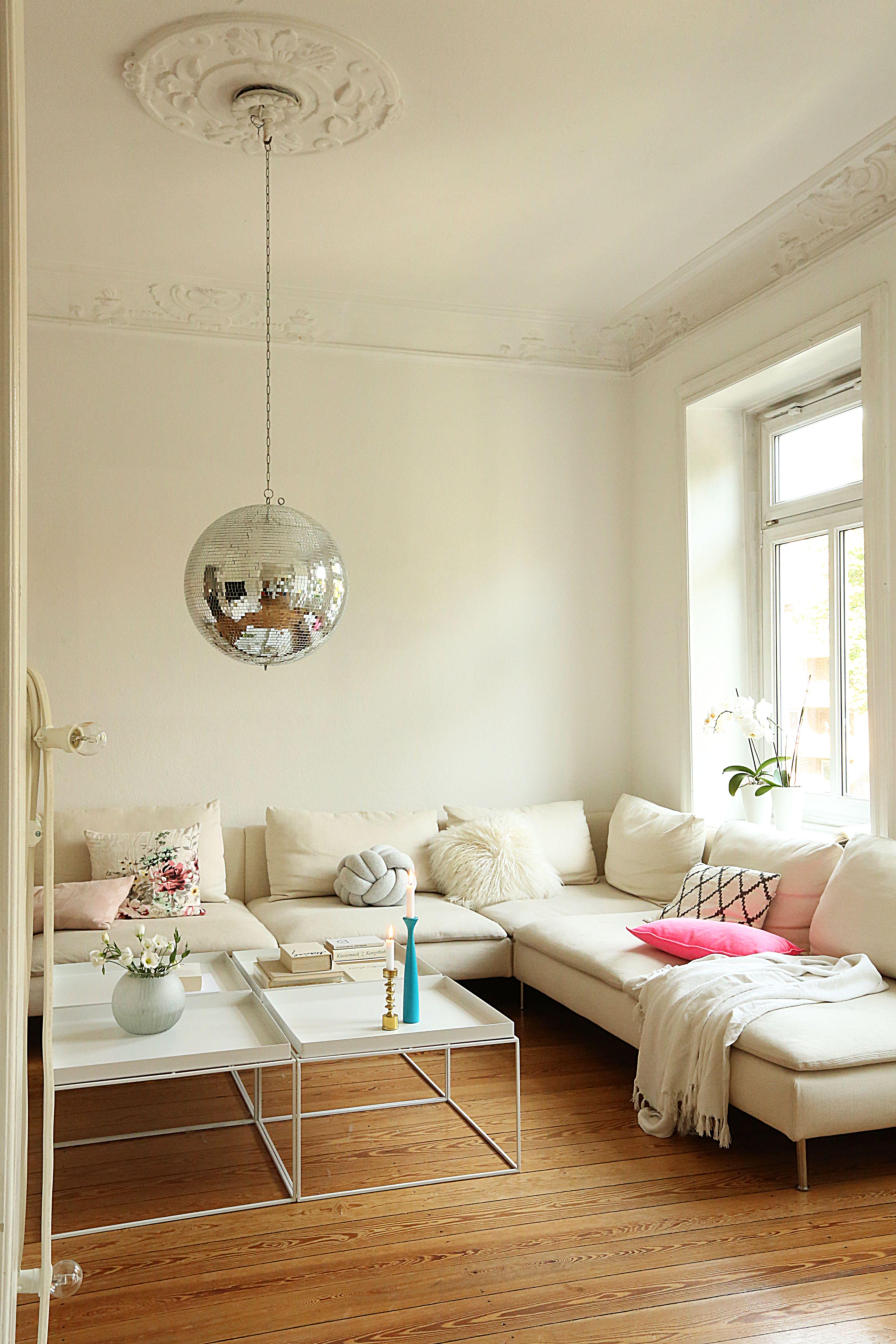 Neon, Altbau, Wohnzimmer, Livingroom, Wohnen, Einrichtung, Deko, Hay Tray