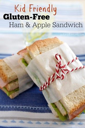 Kid Friendly Gluten-Free Ham and Apple Sandwich #DeliFreshBOLD #spon