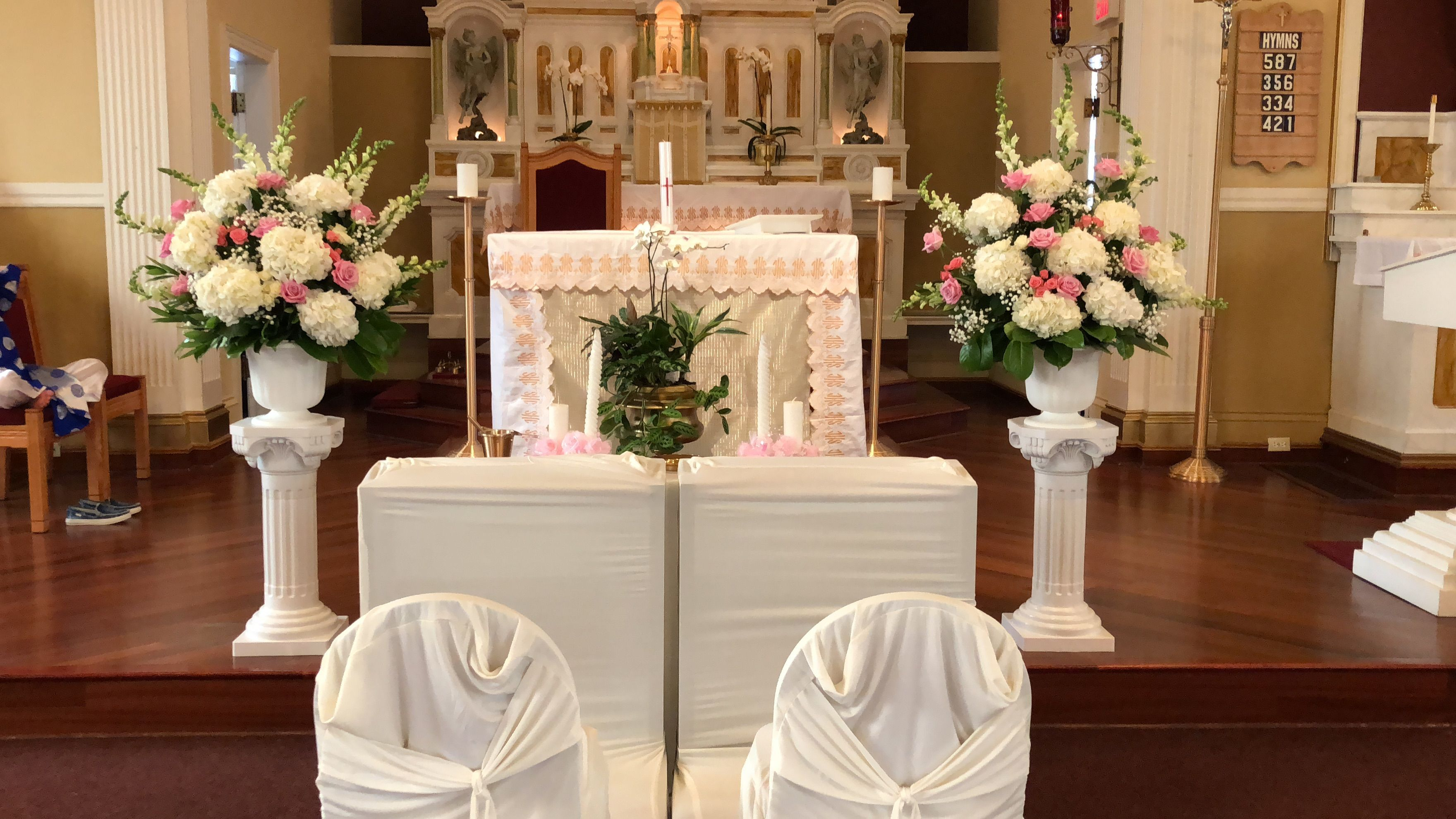 Christian wedding decoration designs  Wedding church decoration weddingdecoration  Wedding Decoration