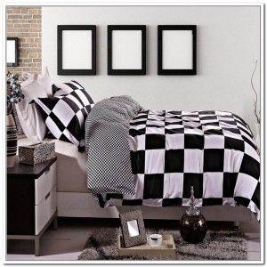 Black And White Checkered Comforter Comforter Pinterest Duvet