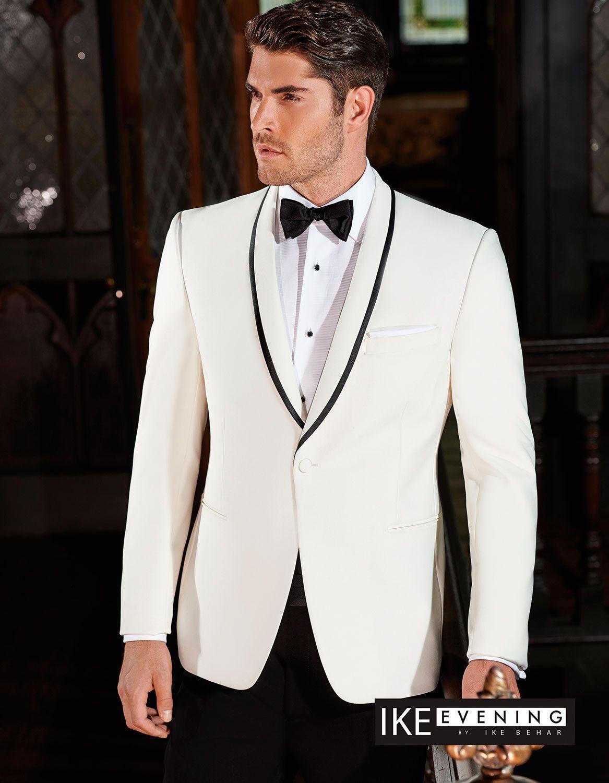 Ivory waverly tuxedo jacket | Cardita selection and in stock ...