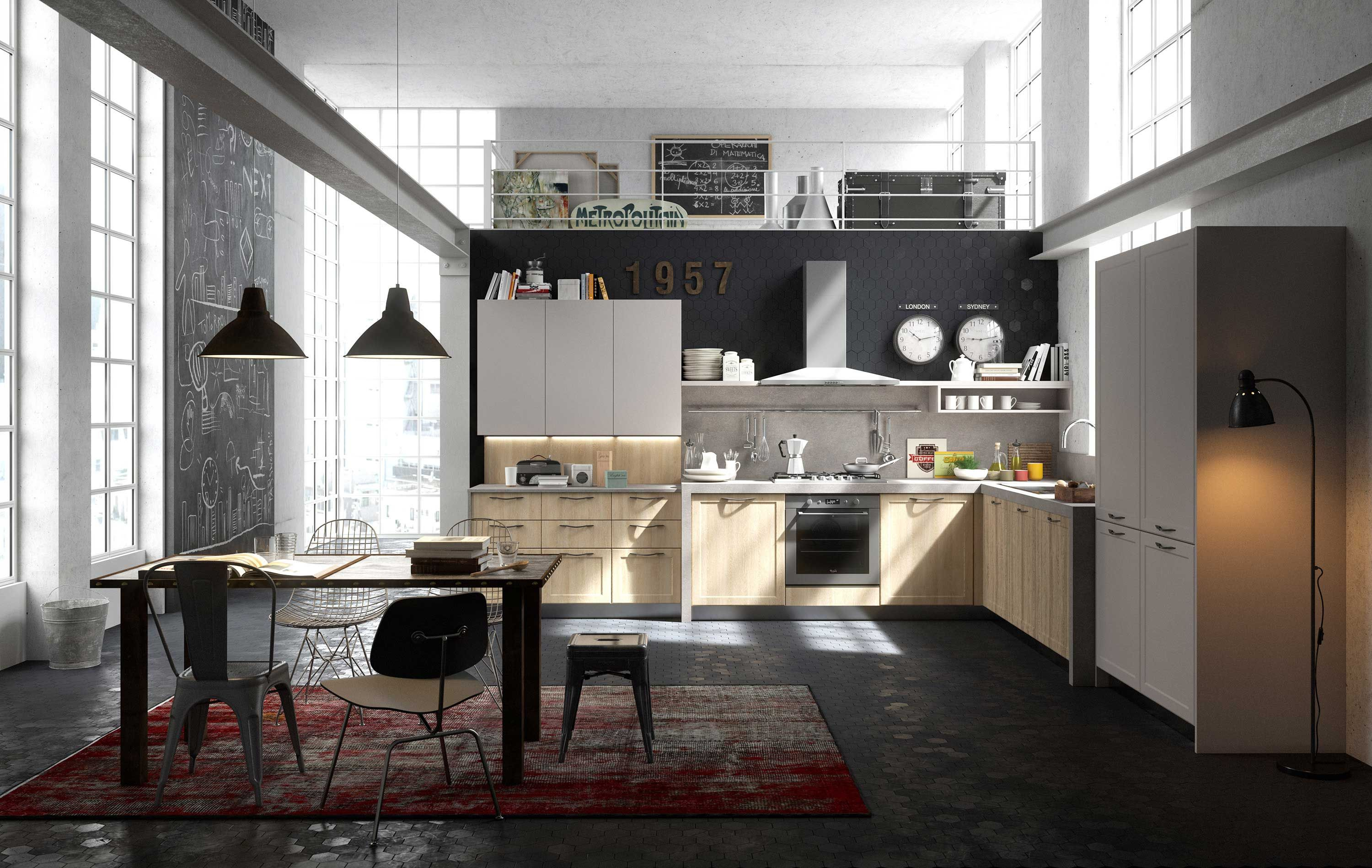 Gallery of a creative answer to contemporary needs snaidero - Cucine ...