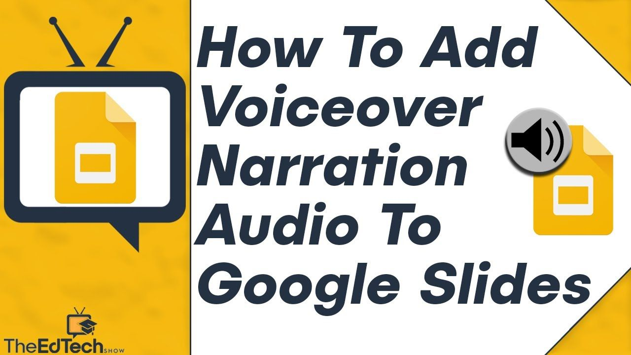 How To Add Audio To Google Slides Voiceover Narration Sounds Tutoria Digital Learning Classroom Teaching Technology Google Classroom Elementary