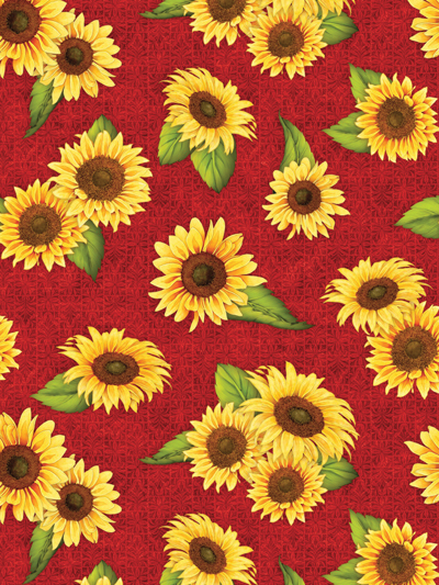 This Field Of Sunflowers Against A Vibrant Red Background Is Sure To Bring Just The Pop Of Colo Cute Flower Wallpapers New Flower Wallpaper Wallpaper Images Hd