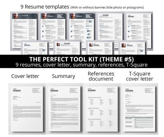 The Perfect Job Seeker Tool Kit : 9 Resumes + Matching