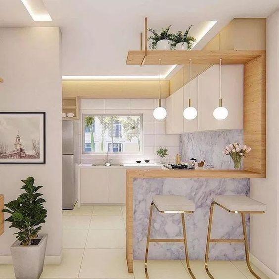 35 Model Kitchen Set Minimalis Untuk Dapur Kecil Dan Besar Ide Dapur Dapur Dapur Kecil