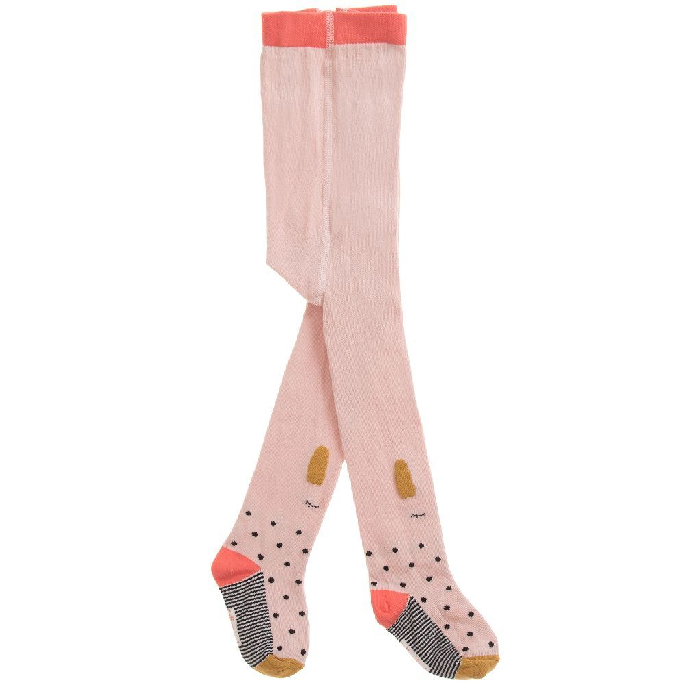 ec1bb5d92 Catimini Girls Pink Cotton Tights at Childrensalon.com | Girl Clothes