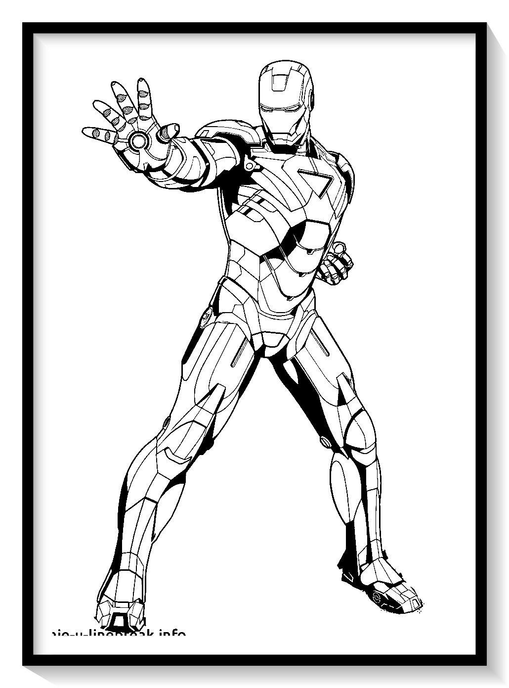 Dibujos De Iron Man Para Colorear En Linea Colorear E Imprimir Ironman Ironman Para Pintar Iron Man Para Colorear Ironman Dibujo Man