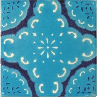 Mexican Tile Carnaval Terra Nova Hacienda Ceramic Tile Azulejos