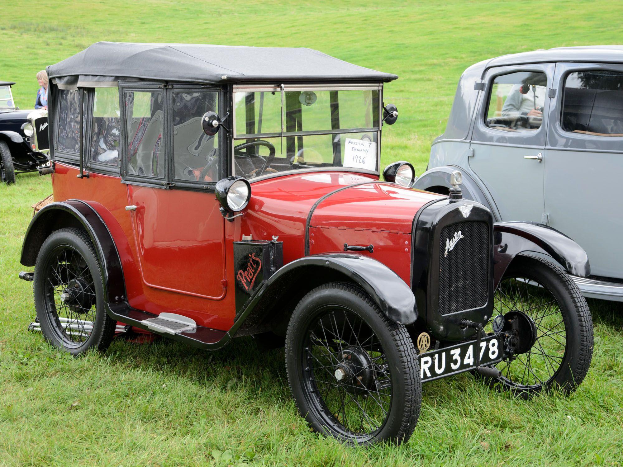 Austin 7 Chummy Keluaran Tahun 1926 Mobil Klasik Victoria Mobil Unik Mobil Antik Mobil Lawas Mobil Klasik Mobil Baru Klasik