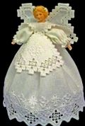 Guardian Angel (Hardanger Embroidery)