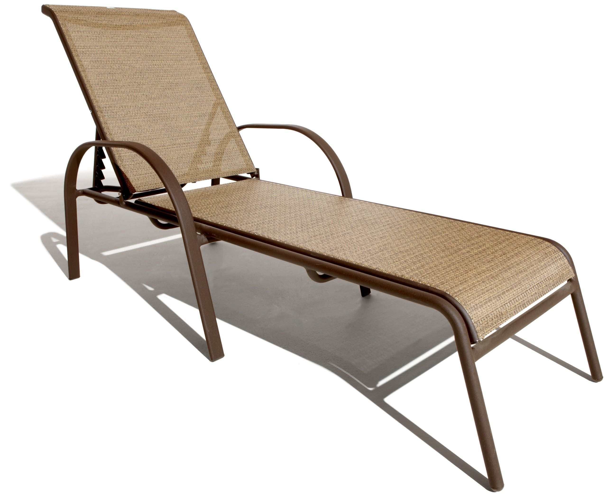 Amazon.com : Strathwood Rawley Textilene Chaise Lounge Chair 2 Pk : Patio,  Lawn
