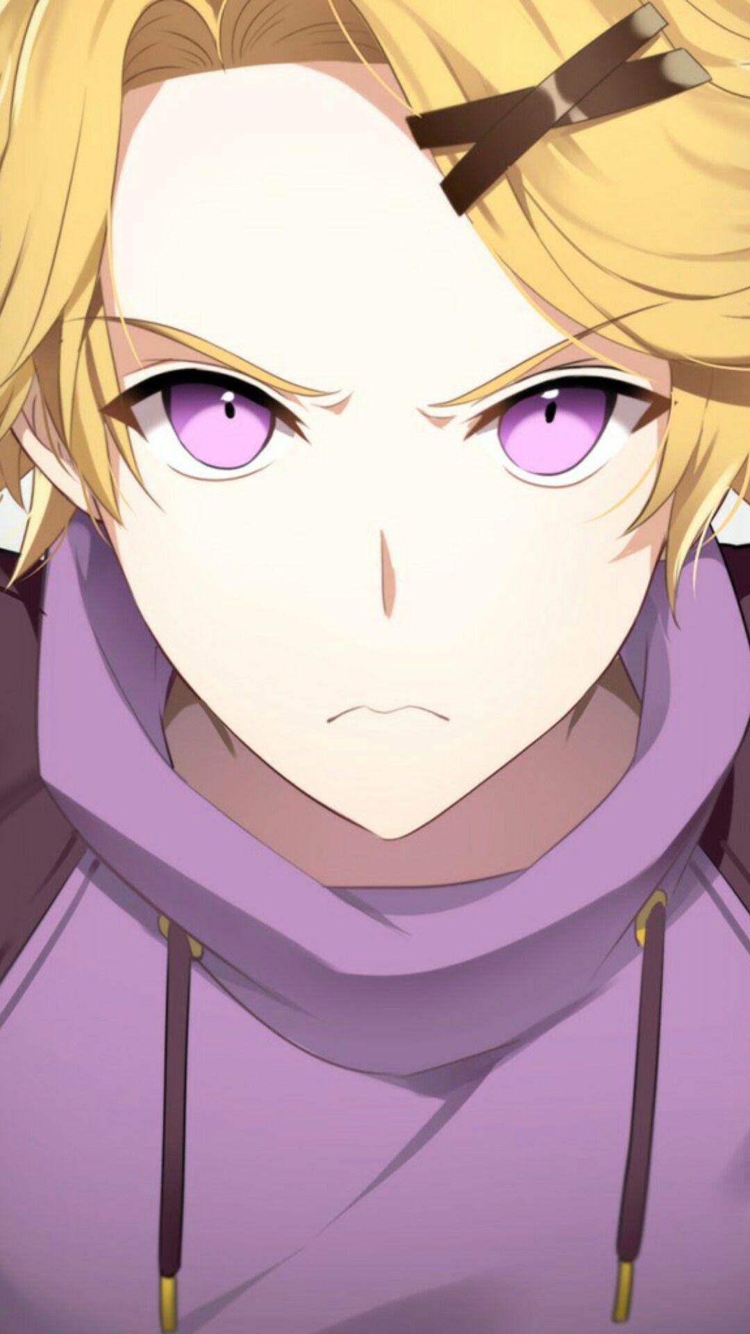 Oooh angry Yoosung He is so cute (ok I write that word