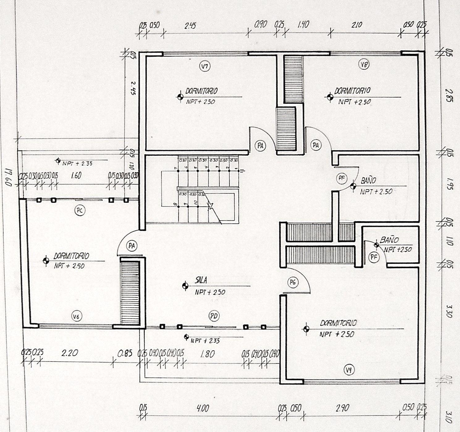 Casa I Floor Plans Mendoza